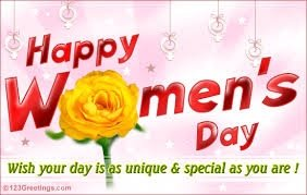 WISHING ALL A HAPPY WOMEN'S DAY